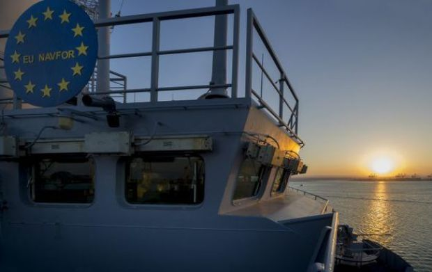 The EU Navy is already operating with HQ in London
