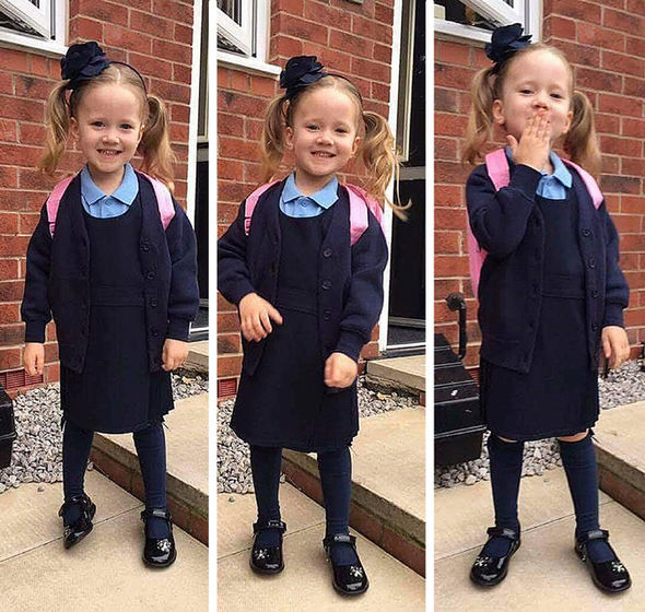 Violet died in hospital after Aiden crashed in to her and her mother as they crossed a street