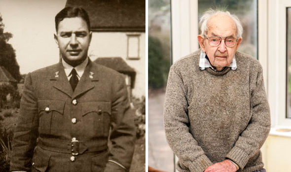 War hero RAF doctor Tom Cullen