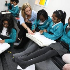 Chairs That Sit On The Floor Padded For Sale Primary School Student Choose To Go Barefoot In Lessons As Experts Highlight Benefits | Uk ...