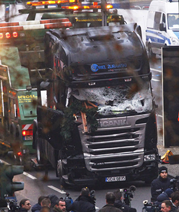 Berlin attacker killed 12 at Christmas market