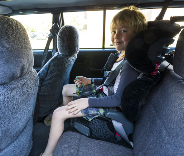 New rules will apply to backless booster seats from Thursday February 9