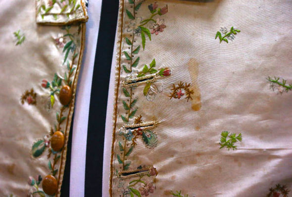 captain james cook's waistcoat up for auction in sydney