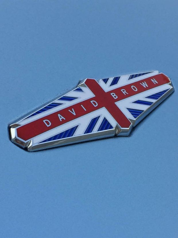 David Brown car logo