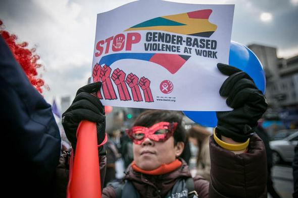 International Women's Day 2017 protest