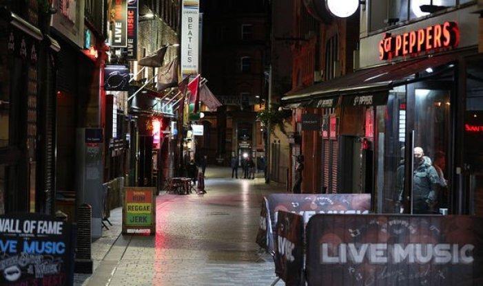 Liverpool streets empty