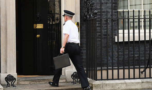Mark Rowley arrives at 10 Downing Street