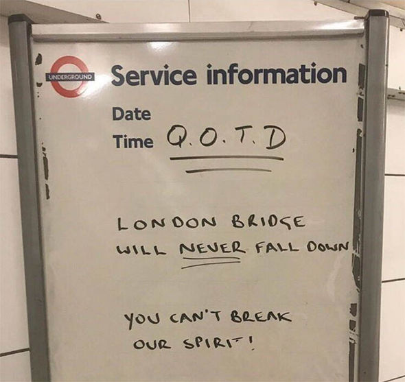 London Bridge terror attack quote of the day