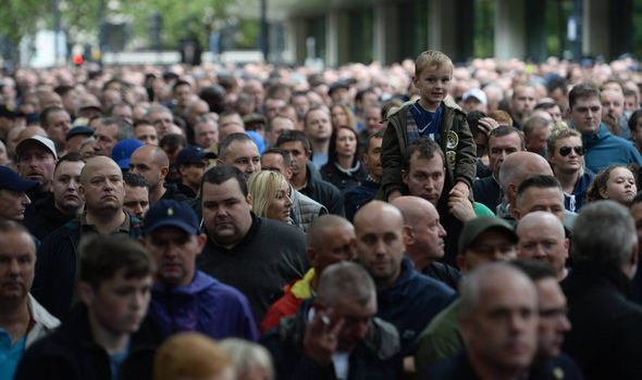 Park Lane protest