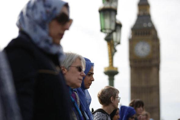 westminster bridge solidarity event