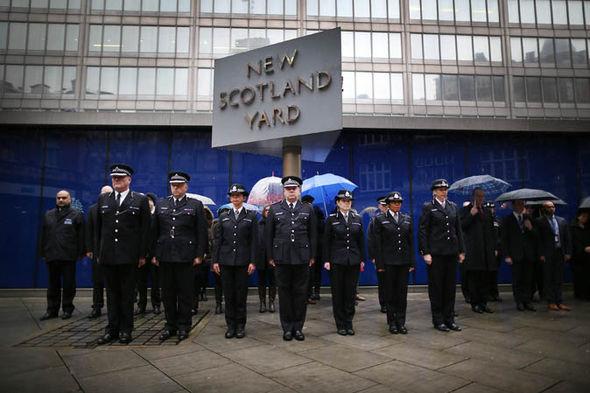 A group of Met officers