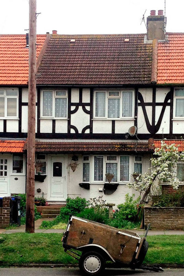 mock Tudor home