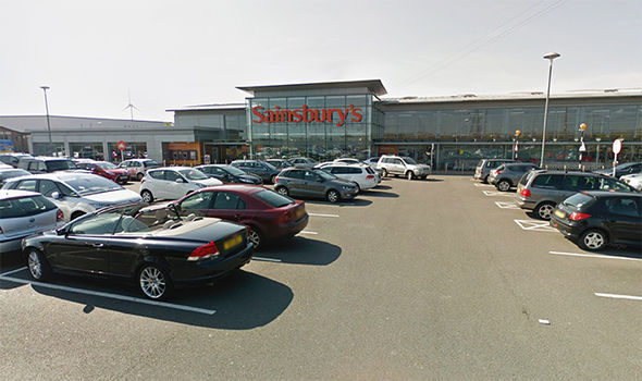 General view of Bangor Sainsbury's