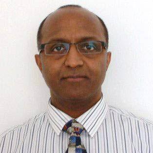 Dr Amaragiri looking serious