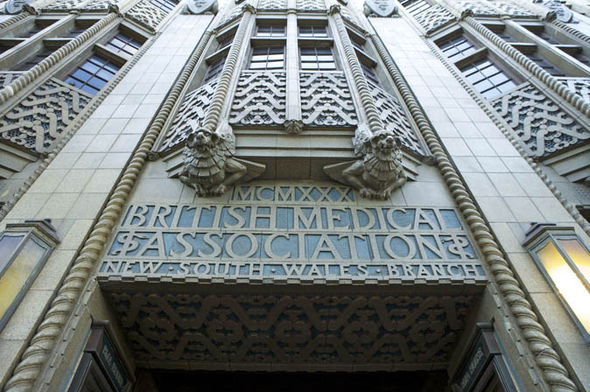 Front of British Medical Association