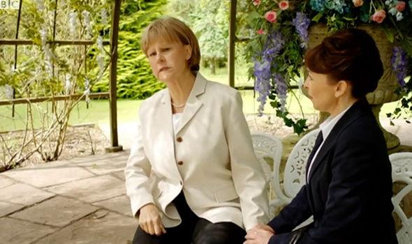 Tracey Ullman as Angela Merkel