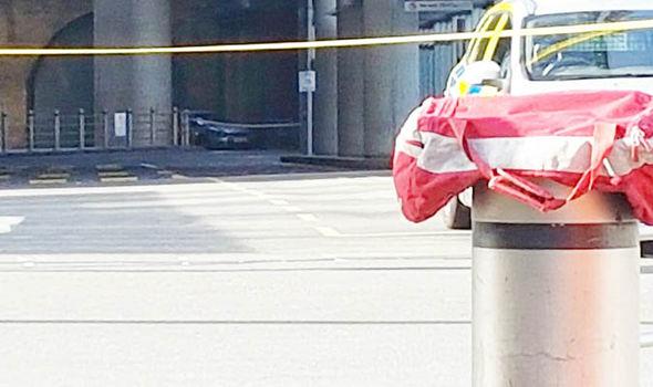 Suspicious car found near seen