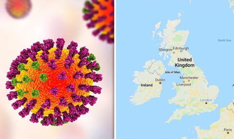 Swine flu warning MAPPED: UK hit by swine flu outbreak | UK | News ...