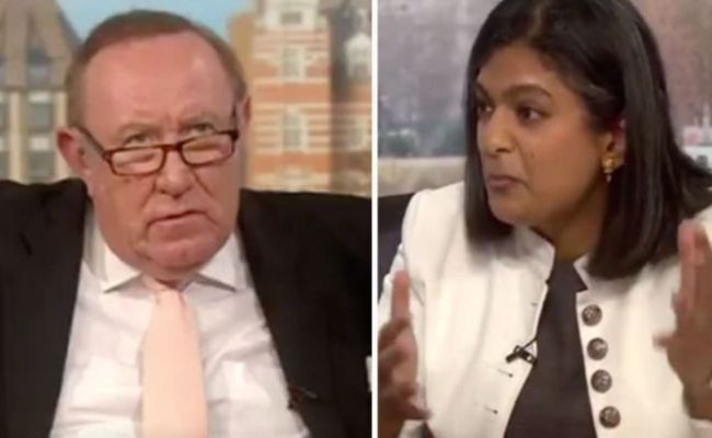 Brexit News Andrew Neil Corrects Labour Mp Over Second