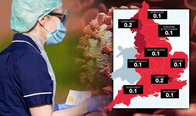 Coronavirus cases MAPPED: Where are COVID-19 cases rising? From London to North West   UK   News   Express.co.uk