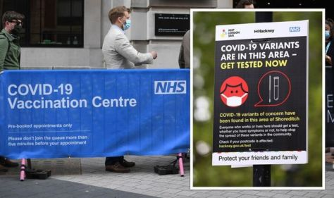 New Covid variant under investigation in UK: PHE confirm 'unusual mutation' - where is it?