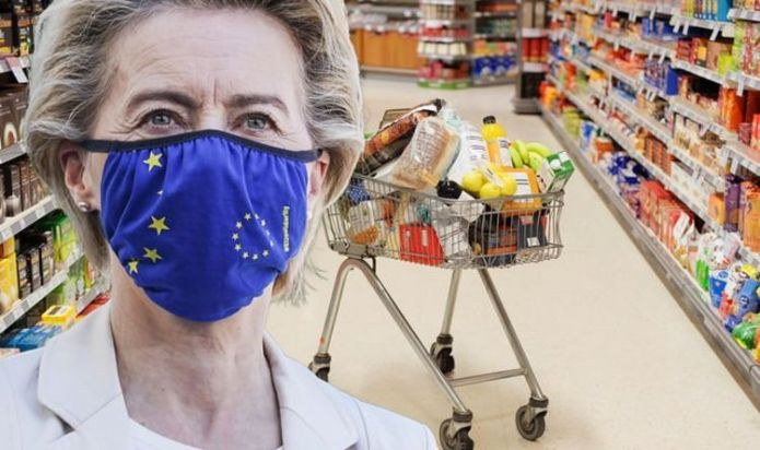 Food shop alert as YOUR supermarket bill set to soar due to EU red tape
