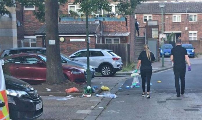 London stabbing horror: Man in 'serious condition' after broad daylight Islington attack