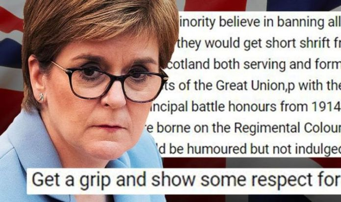 Scots told to 'get a grip' amid campaign to remove Union Jack - 'It can be flown ANYWHERE'