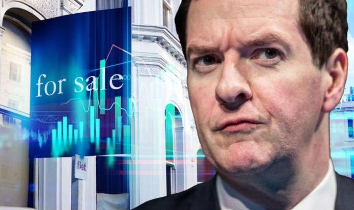 George Osborne's humiliating Brexit property crash prediction as UK market 'on fire'