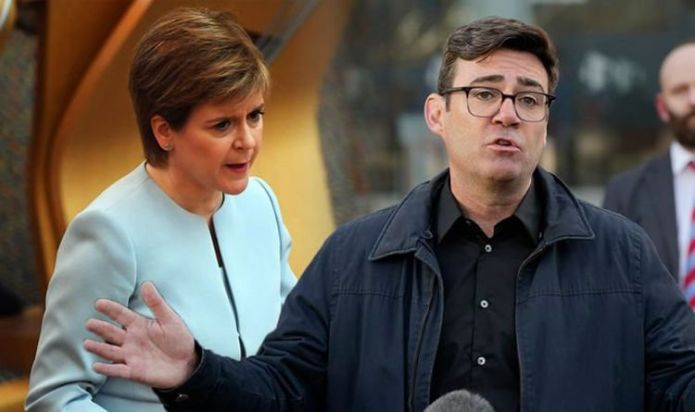 Why has Nicola Sturgeon banned travel to Manchester? Rules in force TODAY