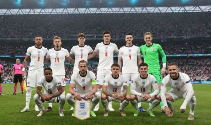 England team 'disgusted' at social media abuse and call for 'toughest punishments'
