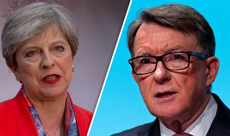 lord mandelson brexit risks blowing up economy blowing up 1