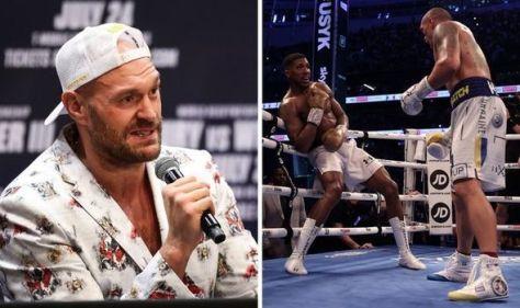 Tyson Fury's promoter 'heartbroken' after Anthony Joshua loses to Oleksandr Usyk