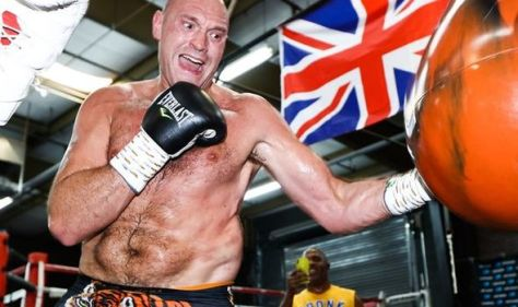 Tyson Fury reveals diet regime for Deontay Wilder fight including gallon of water a day
