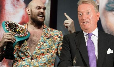 Tyson Fury's promoter details plans for Gypsy King's next fight after Deontay Wilder KO