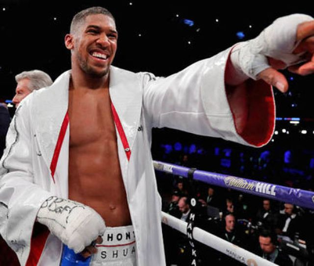 Anthony Joshua Wants Deontay Wilder To Come To The Uk