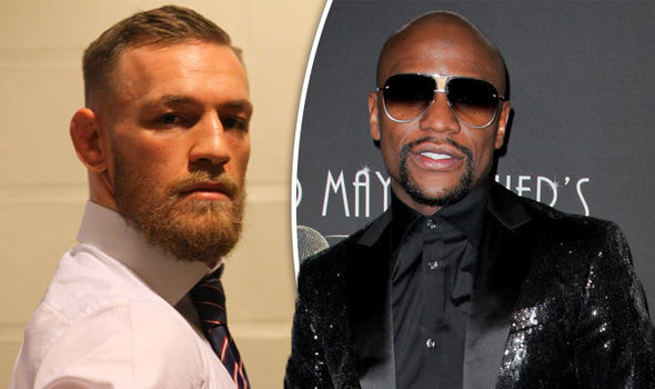 Boxer Floyd Mayweather and UFC star Conor McGregor