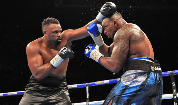 Dereck Chisora and Dillian Whyte