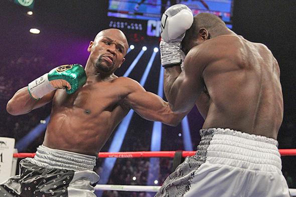 Boxer Floyd Mayweather