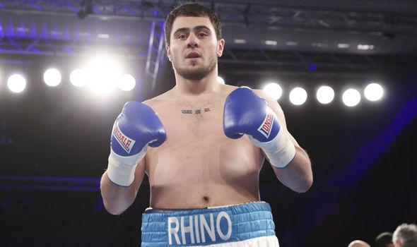 Dave Allen boxer