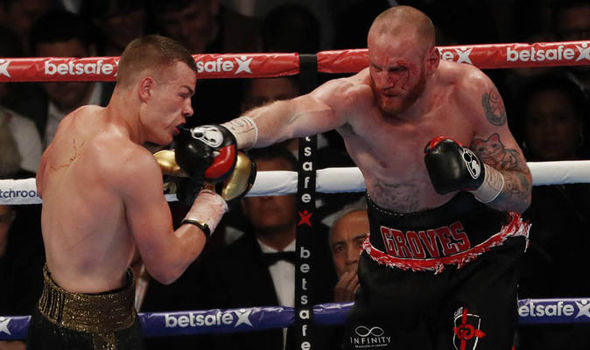 George Groves had three failed world title attempts before this fight
