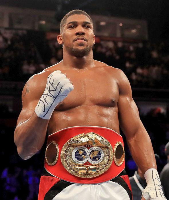 Anthony Joshua demolishes Eric Molina to set up Wladimir Klitschko Wembley superfight  Boxing