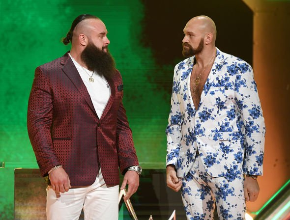 Tyson Fury and Braun Strowman