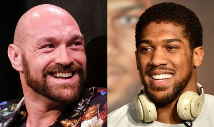 Tyson Fury and Anthony Joshua fight all agreed with 'announcement due in coming days'