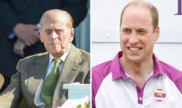Prince Philip; Prince William