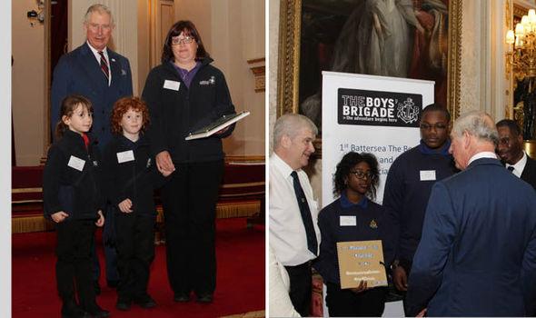 Prince Charles at Social Action Awards