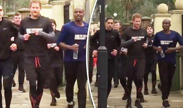 Prince Harry Running