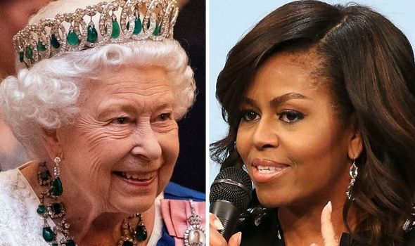 Queen 'charmed by Michelle Obama' as 'world freaked' out over royal protocol breach