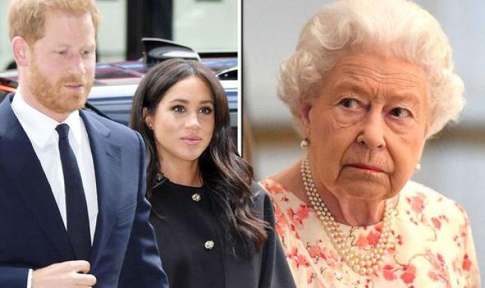 Resultado de imagen de Queen Elizabeth Meghan Markle Prince Harry