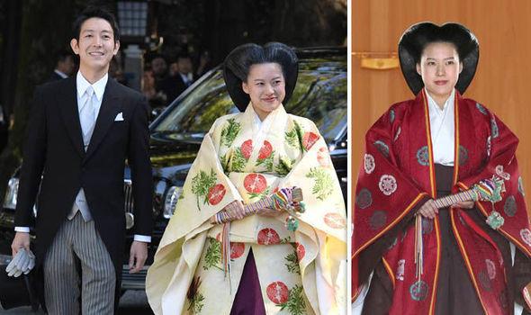 Princess Ayako married commoner Kei Moriya